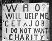 great depression sign